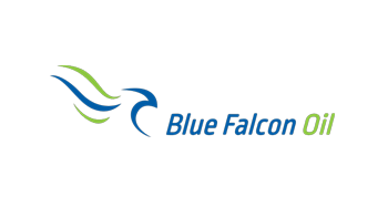 Blue Falcon Oil Logo